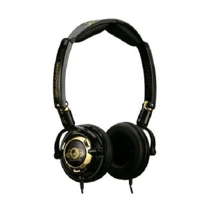 Casque Skullcandy - Black/Gold Lowrider