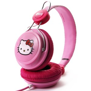 Casque Coloud - Pink Label Hello Kitty