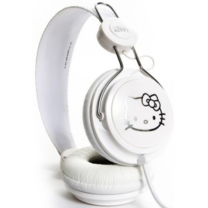 Casque Coloud - White & Silver Hello Kitty