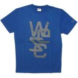 WESC T-shirt - Overlay - Greek Blue