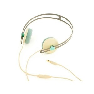 Casque AIAIAI - Creme/Blue Tracks with mic