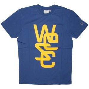 WESC T-shirt - Overlay - Blue Print