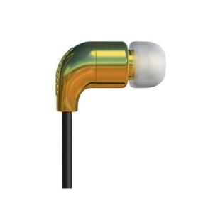 Ecouteurs AIAIAI - Gold/Black Pipe