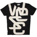 WESC T-shirt - Overlay Biggest - Black