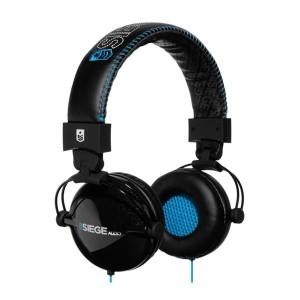 Casque Siege Audio - Black/Blue Division