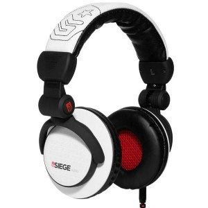 Casque Siege Audio - White Eleven