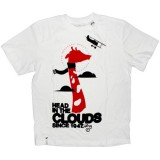LRG T-shirt - White head in the clouds RF tee