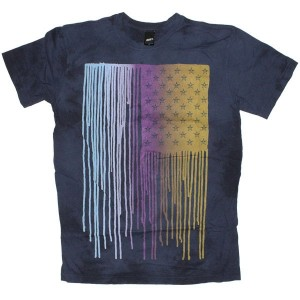 OBEY T-shirt - Run sucka, run - Indigo