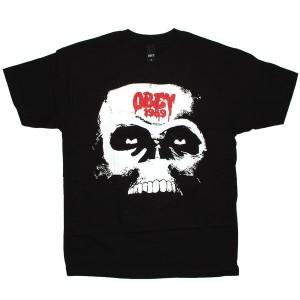 OBEY T-shirt - Arise skull - Black