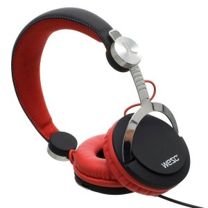 Casque Wesc - Black/Red Bassoon