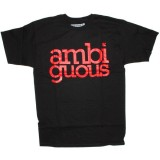 Ambiguous T-shirt - Simple - Black