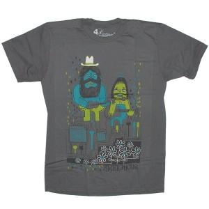 Ambiguous T-shirt - Duo - Charcoal