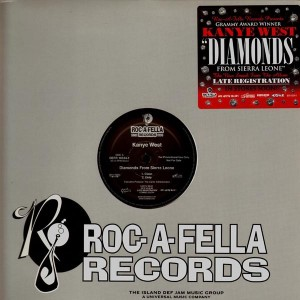 Kanye West - Diamonds from sierra leone - promo 12''