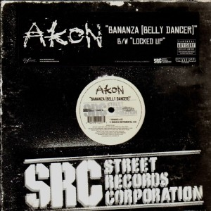 Akon - Bananza / Locked up - 12''