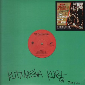 Red Black & Green - Annihilation Of A Nation (20th Anniversary Edition) - LTD 12''
