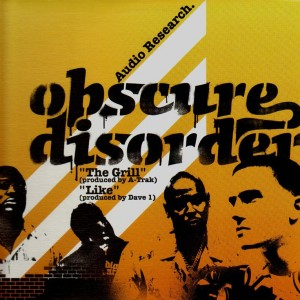 Obscure Disorder - The grill / like - 12''