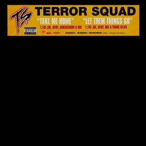 Terror Squad - Take me home / Let them things go - 12''