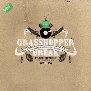 DJ Hertz Red Jacket & Difuzz - Grasshopper break - LP