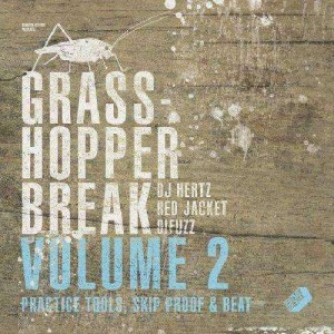 DJ Hertz Red Jacket & Difuzz - Grasshopper break volume 2 - LP