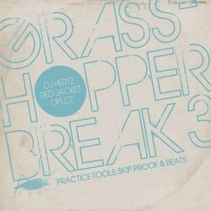 DJ Hertz Red Jacket & Difuzz - Grasshopper break volume 3 - LP