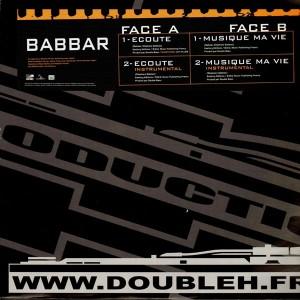 Babbar - Ecoute / Musique ma vie - 12''