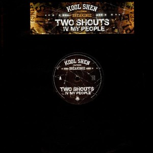 Kool Shen - Two shouts IV my people - 12''