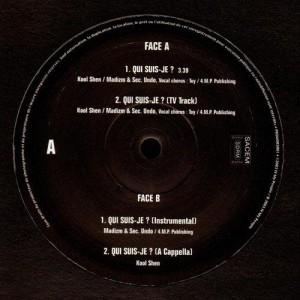 Kool Shen - Qui suis-je ? - 12''