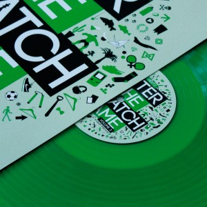 DJ Hertz - Enter The Scratch Game Volume 3 - LTD Clear Green LP