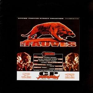 Les Fauves - Attack frontale / La rage / L'usure - 12''