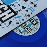 DJ Hertz - Enter The Scratch Game Volume 2 - Clear Blue LP
