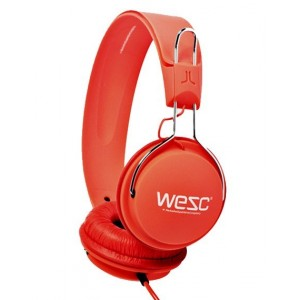 Casque Wesc - Hot Orange Tambourine