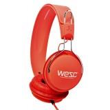 Wesc Headphone - Hot Orange Tambourine