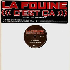 La Fouine - C'est ca - promo 12''