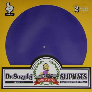 Dr. Suzuki - Blue Mix Edition Slipmats - 2x Slipmats
