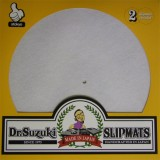 Dr. Suzuki - White Mix Edition Slipmats - 2x Slipmats