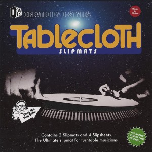 D-Styles x Dr. Suzuki - Table Cloth Version 3 - 2x Slipmats + 4x Slipsheets