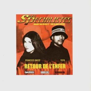 Les Specialistes - Retour de l'enfer - Vinyl EP