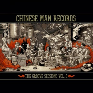 Chinese Man Records - The Groove Sessions vol.3 - Various artists - 3LP