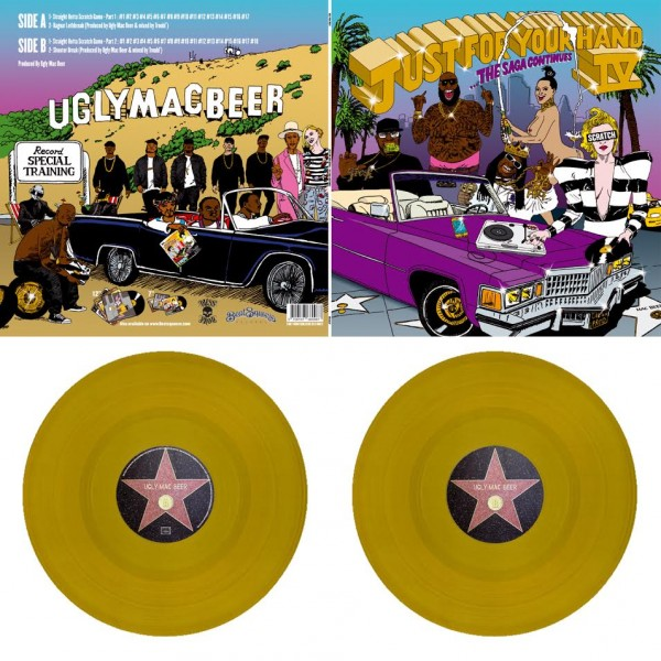 Ugly Mac Beer Just For Your Hand 4 Gold Lp Temple Of
