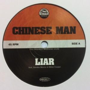 Chinese Man - Liar - LTD 7''