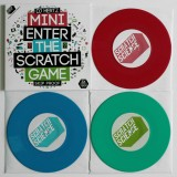 DJ Hertz - Mini Enter The Scratch Game - LTD Color 3x7''