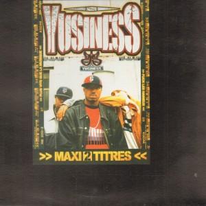 Yusiness - Plus vite que la musique / Fuck les haineux - 12''