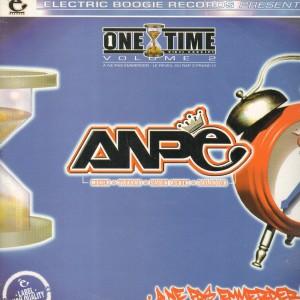 ANPE - A ne pas emmerder / Dechiffrez des lettres - One Time Vol.2 - 12''