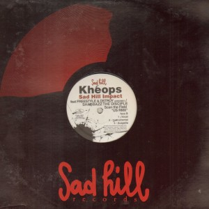 Kheops feat. Freestyle, D.Stroy & Shabazz The Disciple - Art of raw / Scan the field US RMX - 12''