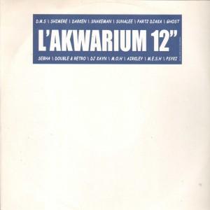 L'Akwarium - Si J'etais Riche / Folie Urbaine / 8 M'sures Qui Trainent - 12''