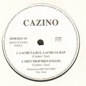 Cazino - Aux Pieds De La République EP - 12''