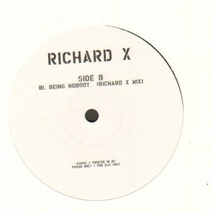Girls On Top / Richard X – We Don't Give A Damn About Our Friends / Being Nobody (Richard X Mix) - 12''