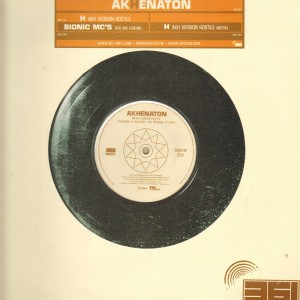 Akhenaton - Bionic Mc's / H (AKH version hostile) - 12''