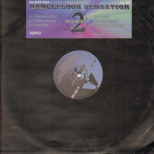 DJ Kiff One & DJ JB - Dancefloor Sensation (feat. Mowgly) Volume 2 - Party Breaks R&B Hip Hop Ragga - 12''