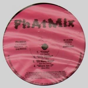 Phatmix - Various Artists - 6 tracks - 12''